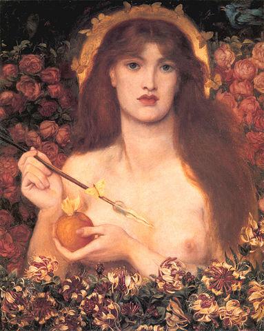 La Venus Verticordia de Dante Rossetti