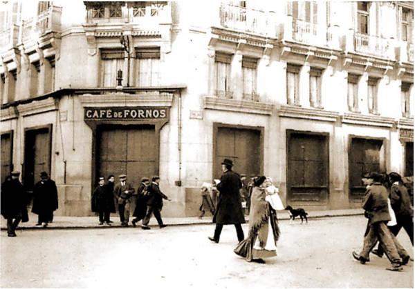 El histórico café Fornos de Madrid