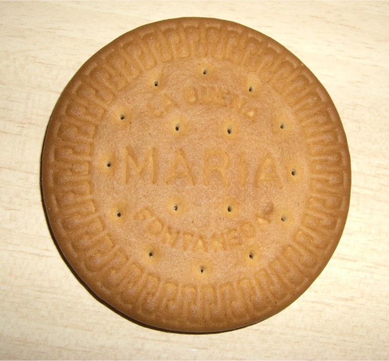 La típica galleta María