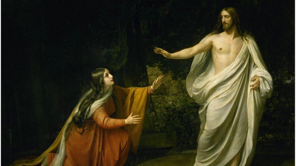 María Magdalena y Jesús